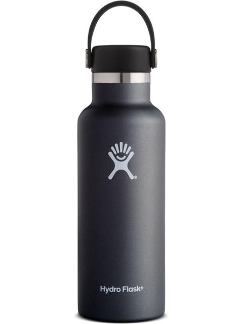Hydro Flask Standard Mouth Flex 18 Bottle 532ml Black